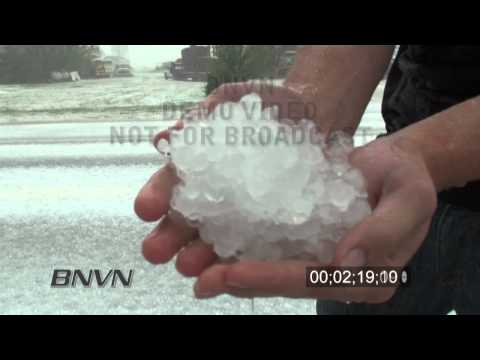5/15/2010 Campo, CO Insane huge hail storm video