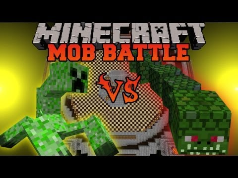 Mutant Creeper Vs. Naga - Mob Battles - Twilight Forest and Mutant Creatures Mods