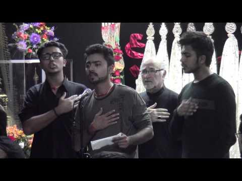 Zuhair, Yasir & Safeer Rizvi zainab Nay Kaha Ro Kar Abbas Chale Aao - 11 12 13 video