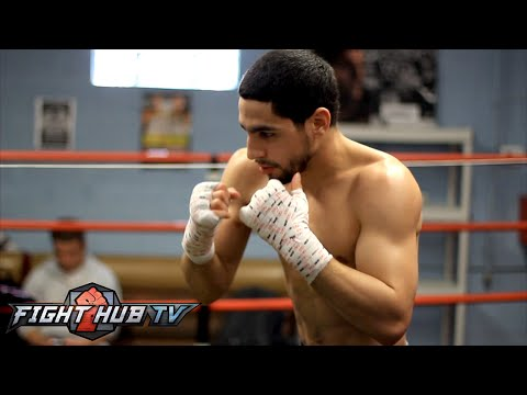 Danny Garcia vs. Lamont Peterson Full Video-Garcia COMPLETE workout video