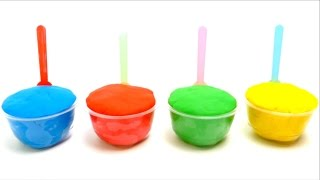 Play-Doh Ice Cream Cups with Surprise Eggs Toys for Kids