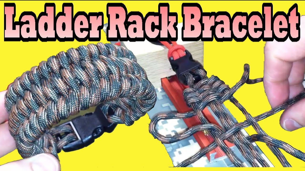 Paracordist S How To Make The Ladder Rack Knot Paracord