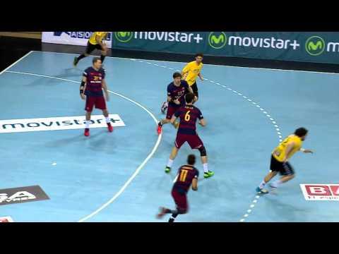 [HIGHLIGHTS] Handball (ASOBAL): FC Barcelona Lassa-BM Aragón (40-19)
