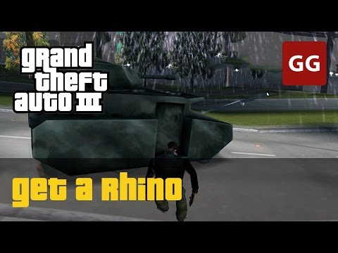 Easy Way to Get a Rhino Tank — GTA 3