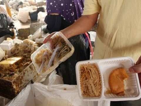 Hong Kong choking on food waste 香港的廚餘危機