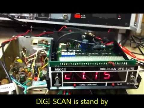 REDCO DIGI-SCAN UFO ELITE connect to PALOMAR SSB-500 (uPD858)
