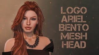 Logo Ariel Bento Mesh Head in Second Life