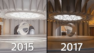 BESPIN reworked | Battlefront (2015) vs Battlefront II (2017)