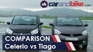 Maruti Celerio Diesel vs Tata Tiago Diesel Comparison Review - NDTV CarAndBike