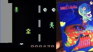 Zombie Road Kill - Atari 2600 Homebrew Game - Review