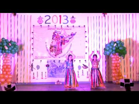 Ita Us2013: Sathivaka And Karunya Performing Dance For 'barso Re Megha Megha... video