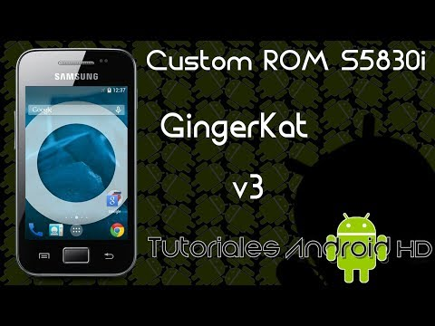 Tutorial GingerKat v3 ROM 99% ESTABLE Estilo Pure Android KitKat [Galaxy Ace s5830i-m-c-39i]