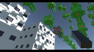 Implementing VR Space Invaders with Unity