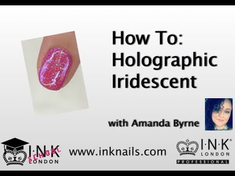 How to create a Holographic Iridescent Nail