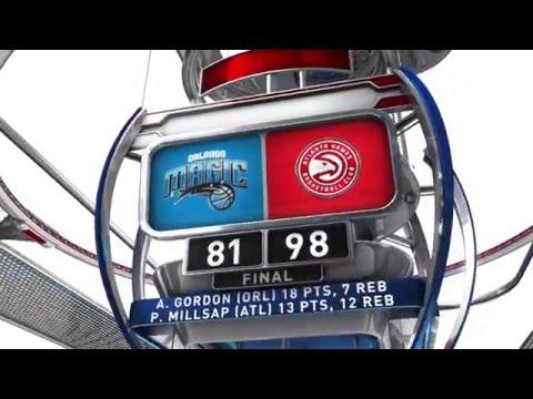 Orlando Magic vs Atlanta Hawks - January 18, 2016