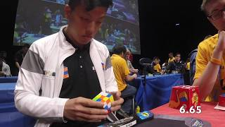 6.25 official Rubik's cube average