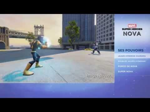 Disney infinity 2.0 : Marvel Super Heroes - Présentation de Nova