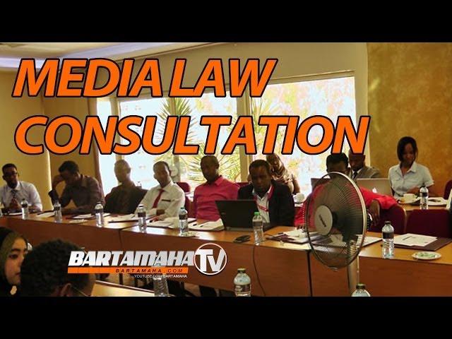 Consultation on the Draft Somalia Media Law (Nairobi,Kenya)