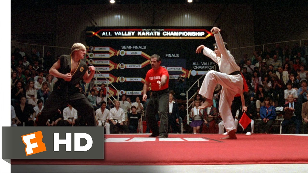 Crane Kick Karate Kid Youtube