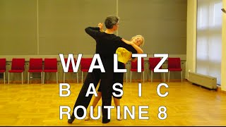 How to Dance Waltz - Basic Routine 8