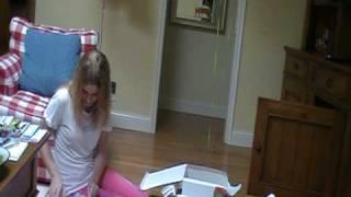 Amanda's 16th  Birthday... Opening her present!!!