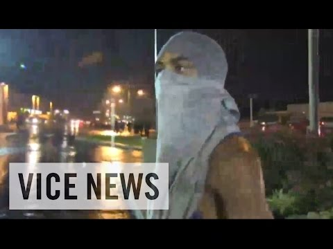 RAW COVERAGE: From Ferguson, Missouri Before and After Curfew