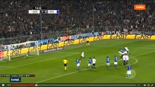 Mesut Özil Penalty Goal For Germany ! Germany vs Italy 29.03.2016 ( 4-0 )