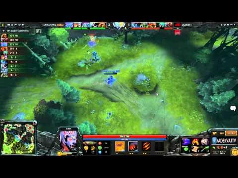 LGD.int vs TongFu.WanZhou, Sina Cup Supernova Dota 2 Open Season 2, Day 1, game 2