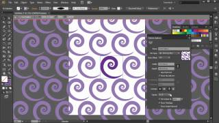Create a Swirl Pattern using Illustrator CS6