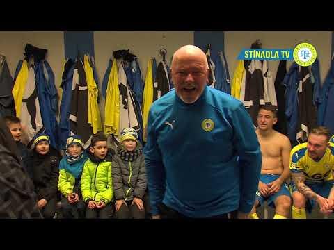 Radost přímo z teplické kabiny po zápase s Opavou (3.3.2019)