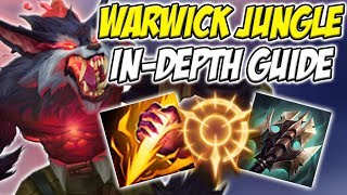 GUIDE ON HOW TO PLAY WARWICK JUNGLE IN SEASON 8!! SO STRONG AND NOOB FRIENDLY! - League of legends