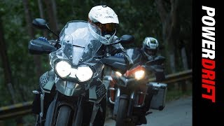 Adventure of a lifetime : Triumph Tiger 800 & Ducati Multistrada 950  : PowerDrift