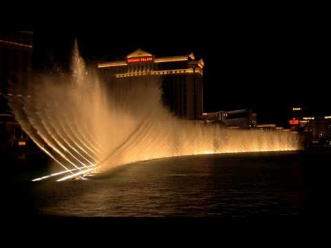 Bellagio Fountains - Las Vegas - Hd video