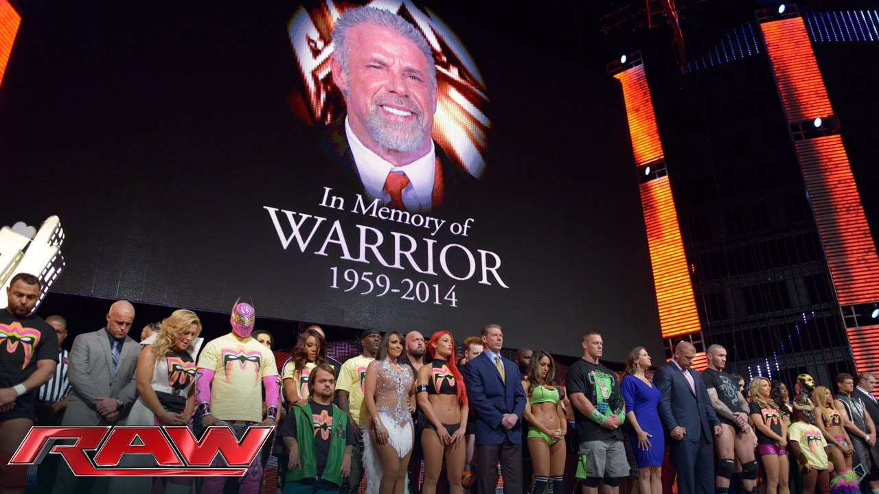 A Tribute To The Memory Of The Ultimate Warrior Raw