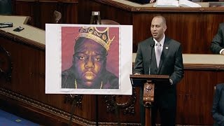 """Biggie Smalls is gone but he will never be forgotten."" House Floor Pays Tribute To Notorious B.I.G."