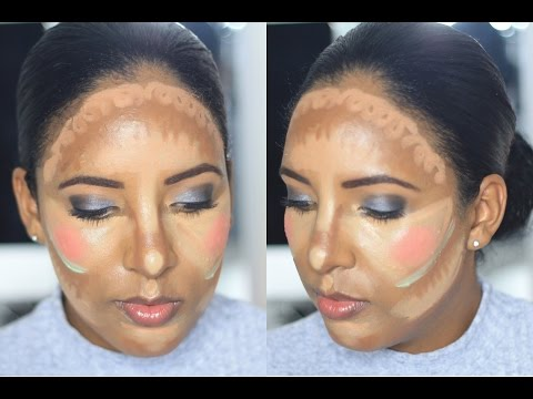 ♡ Clown Contouring ♡ What Not To Do | Canvas Fashions - South African Beauty Blogger