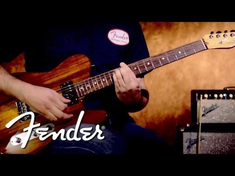 Fender Select 2013 Telecaster SH Demo