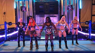 Fatal 5 Way Womens Title Match Smackdown Live
