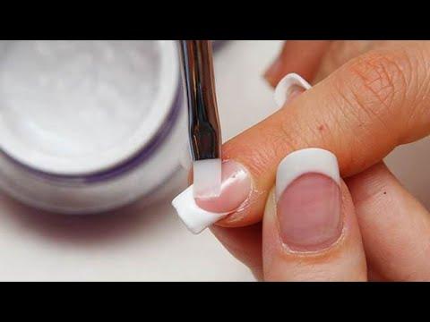 Наращивание ногтей биогелем в домашних условиях для начинающих 682