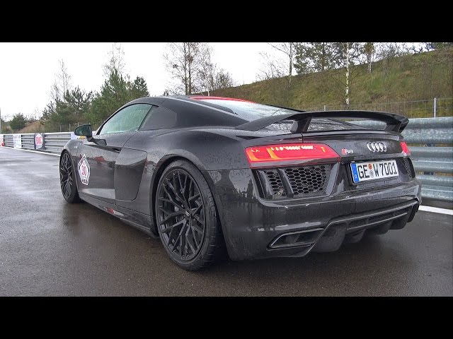 2016 Audi R8 V10 Plus with Capristo Exhaust System ...