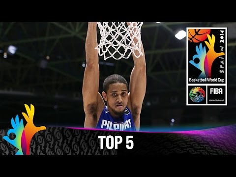 Top 5 Plays - 1 September - 2014 FIBA Basketball World Cup