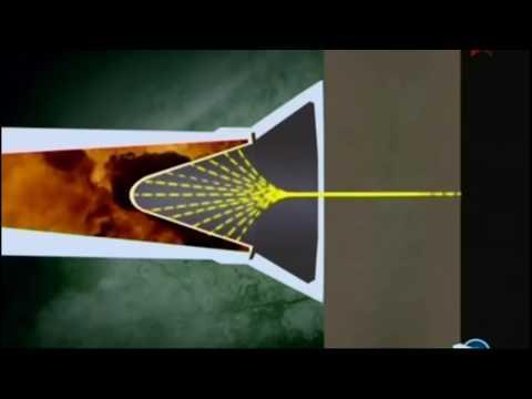 Принцип действия кумулятивного снаряда.