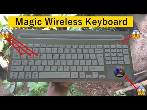 Amezing Magic Wireless Keyboard: Unboxing & Review - Apple Smart Keyboard Killer? [ B021 Keyboard]