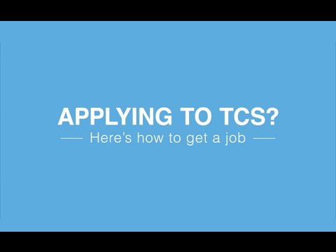 Applying for a position with Tata Consultancy Services?