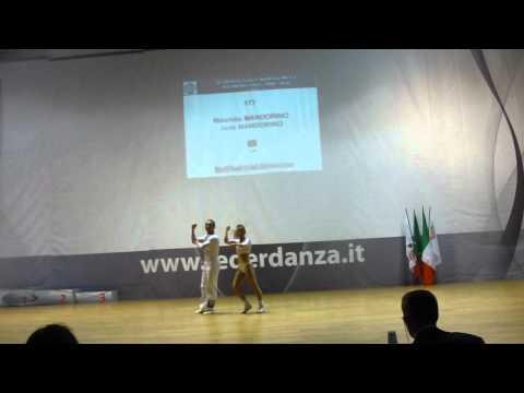 Jade Mandorino & Maurizio Mandorino - Europameisterschaft 2011