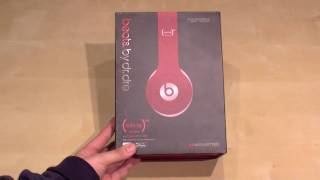 Beats by Dr. Dre Solo HD Product Red Unboxing & Hands On - German