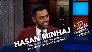 Hasan Minhaj And Stephen Compare WH Correspondents