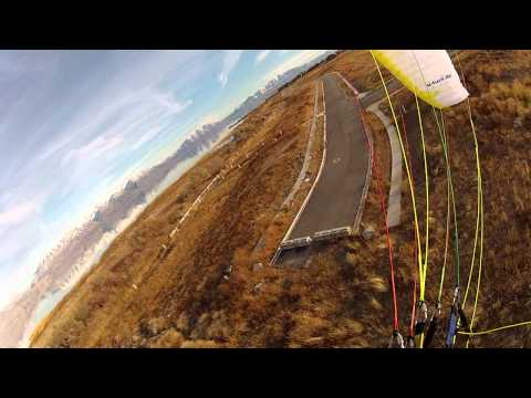 U-Turn Reflaction Paramotor Wing First Flight Test Review!!! Powered Paraglider Extreme!!!