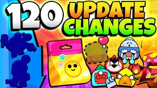 120+ UPDATE CHANGES! EVERY PIN, NEW BRAWLER GALE & ???, BRAWL PASS & MORE! EVERY UPDATE CHANGE!