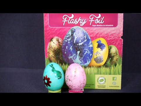 Foil Easter Eggs Paas Paas Flashy Foil Egg